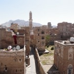 View of old city of Sana'a from my window