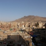 Rooftop view of old city of Sana'a 1